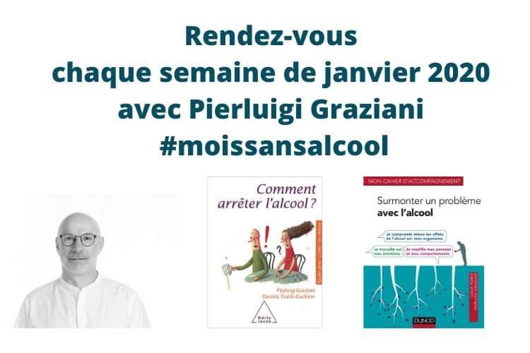 Pierluigi Graziani psychologue TCC auteur de Comment arrêter l'alcool aux éditions Odile Jacob
